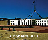 Canberra City in the Australian Capital Territory.