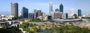 Perth City, Western Australia.