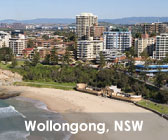 Wollongong, New South Wales.
