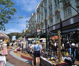 Fortitude Valley Markets, Brisbane.